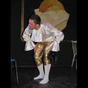 Divadelní perličky 2015: herec a moderátor Josef Mádle * foto Vladimír Michal